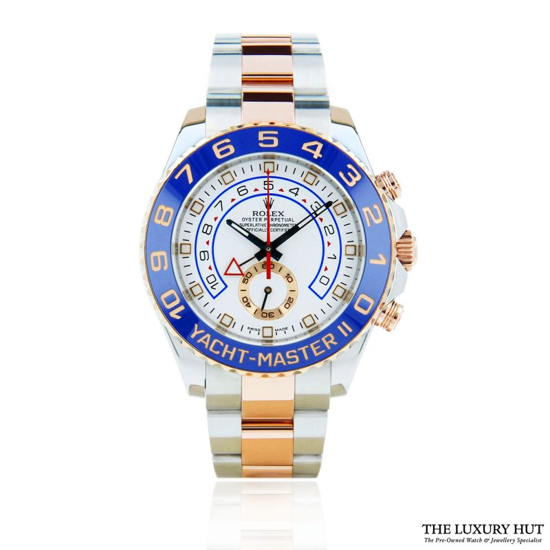 Rolex Yacht-Master 2 Bi-Metal 44mm Ref: 116681 - order online today for next day delivery.