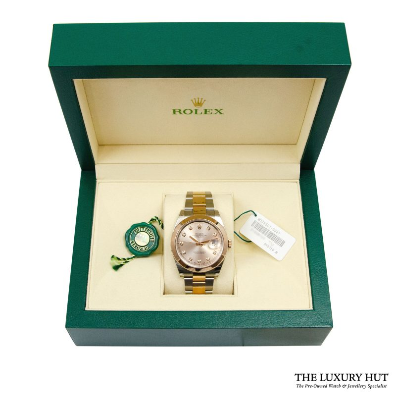 Rolex Datejust II Bi-Metal 41mm Watch Ref: 126301- order online today for next day delivery