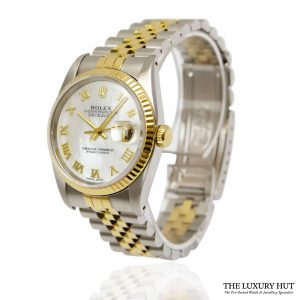 Rolex Datejust Bi-Metal 36mm Watch Ref: 16233 - order online today for next day