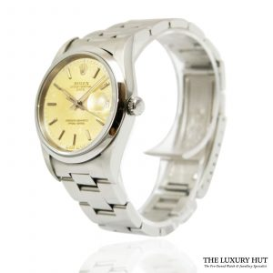 Steel Rolex Date 34mm Watch Ref: 15200 - order online today for next day
