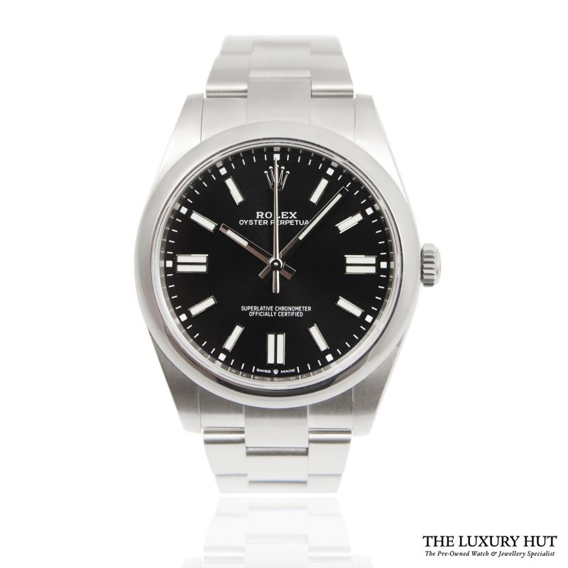 Rolex Oyster Perpetual 41mm Watch Ref: 124300 - order online today for next day delivery.