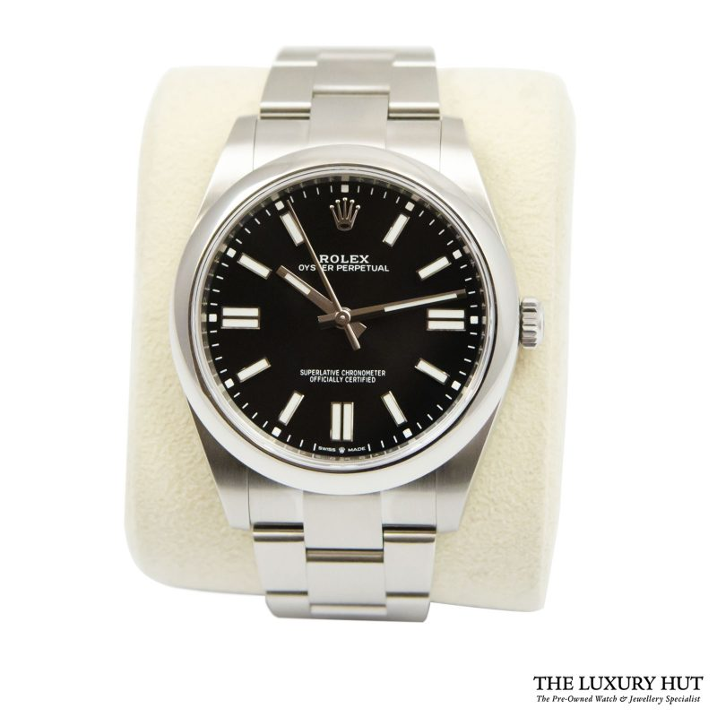 Rolex Oyster Perpetual 41mm Watch Ref: 124300 - order online today delivery.
