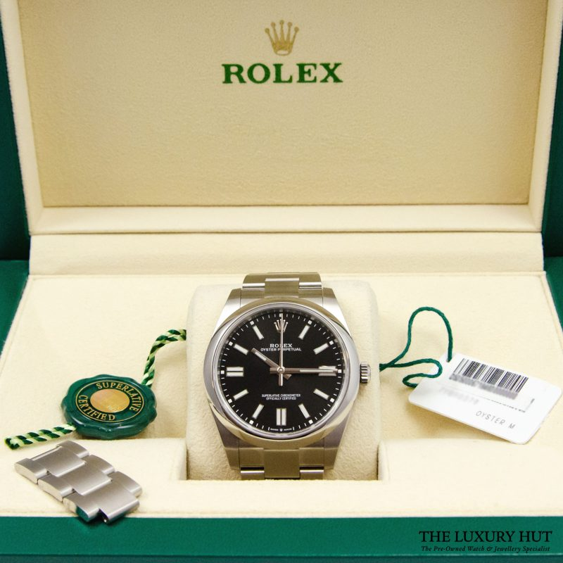 Rolex Oyster Perpetual 41mm Watch Ref: 124300