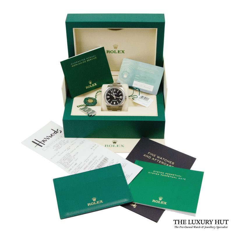 Rolex Oyster Perpetual 41mm Watch Ref: 124300 - order delivery.