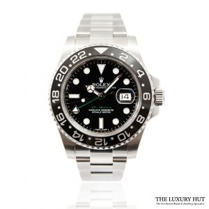 Shop Rolex GMT-Master II Watch Ref: 116710LN