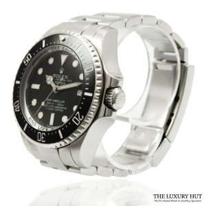 Rolex Sea-Dweller Steel Deepsea Watch Ref: 116660
