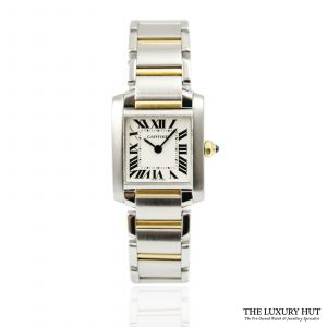 Shop Cartier Tank Francaise Quartz Watch Ref: 2300