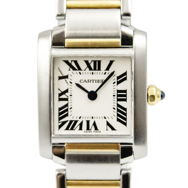 Shop Cartier Tank Francaise Quartz Watch