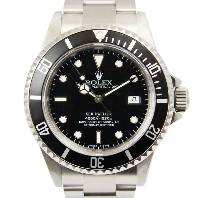 Rolex Sea-Dweller Steel Watch Ref: 16660