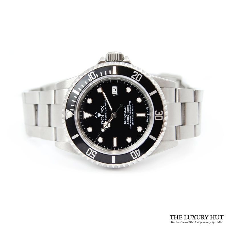 Shop Rolex Sea-Dweller Steel Watch