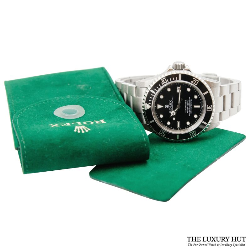Shop Rolex Sea-Dweller Steel Watch Ref: 16660