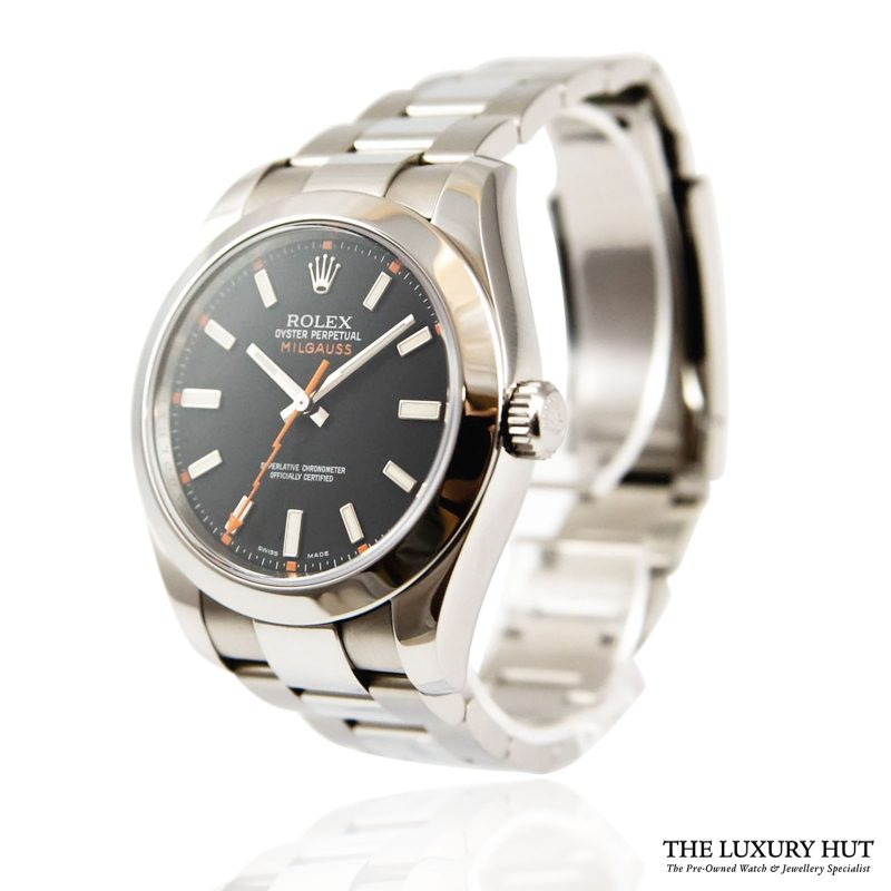 Rolex Milgauss Watch Discontinued Ref: 116400