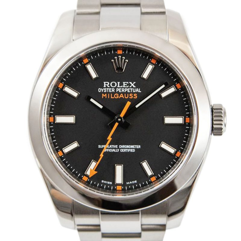 Shop Rolex Milgauss Watch Discontinued Ref: 116400