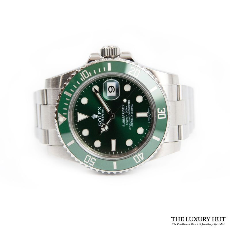 Rolex Submariner Hulk Watch Ref: 116610LV