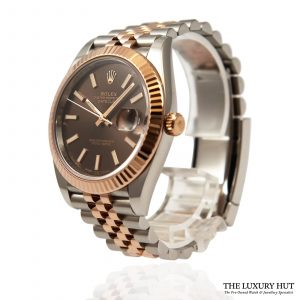Rolex Bi-Metal Datejust Watch Ref: 126331