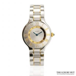 Shop Cartier 21 Must De Cartier Ladies 28mm Watch Ref: 1340