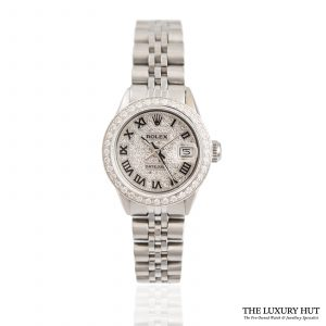 Shop Ladies Rolex Datejust Watch Ref: 6517 - 1965