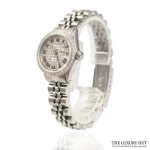 Ladies Rolex Datejust Watch Ref: 6517 - 1965