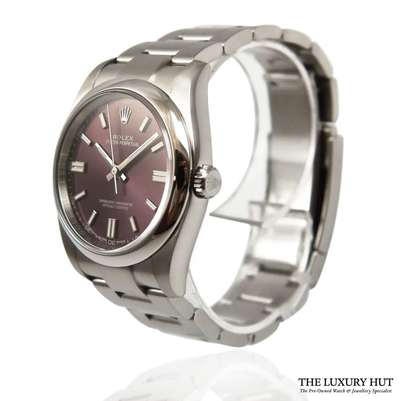 Rolex Oyster Perpetual Red Watch Ref: 116000