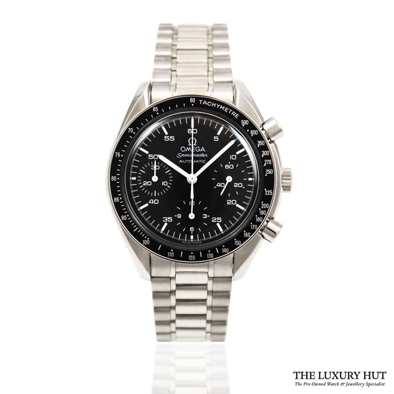 Shop Omega Speedmaster Automatic Watch Ref: 35105000