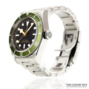 Tudor Black Bay Green Harrods Watch Ref: 79230G