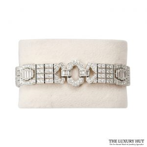 Shop 18ct White Gold Diamond Bracelet