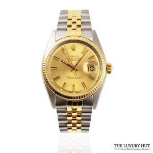 Shop Vintage Rolex Datejust 36mm Watch Ref: 1601