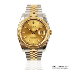 Shop Rolex Datejust 36mm Watch Ref: 116233
