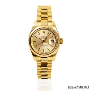 Shop Rolex Lady Datejust 26mm Watch Ref: 179168