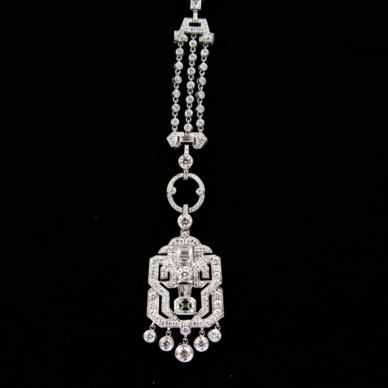Shop Rare 18ct White Gold Diamond Sautoir