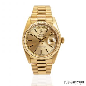 Shop Rolex Oyster Perpetual Day-Date Watch Ref: 18038