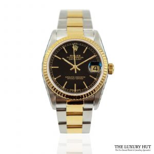 Shop Ladies Rolex Datejust Midsize Watch Ref: 68273