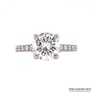 Shop Platinum GIA Certified 2.34ct Diamond Ring