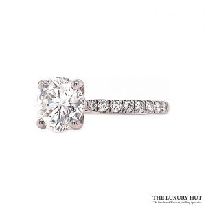 Shop Platinum Certified 2.34ct Diamond Ring