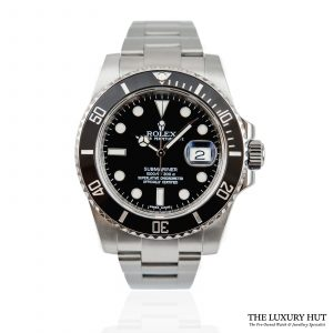 Shop Steel Rolex Submariner Date Watch Ref: 116610LN