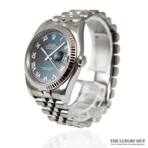 Rolex Steel Datejust 36mm Watch Ref: 116234