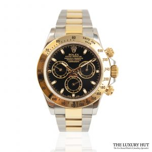 Shop Rolex Daytona Steel & Gold Watch Ref: 116523
