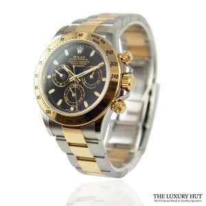 Shop Rolex Daytona Steel & Gold 40mm Watch Ref: 116523
