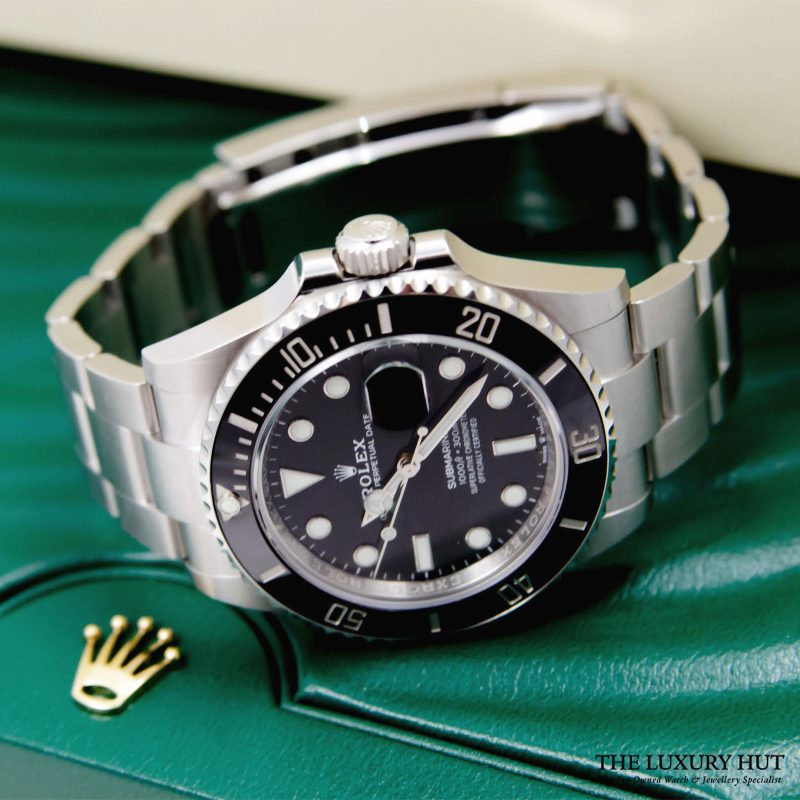 Shop Rolex Submariner Watch Ref: 126610LN