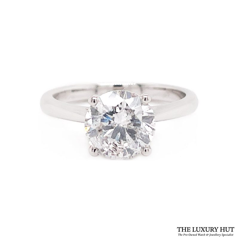 Shop Platinum Certified Diamond Engagement Ring