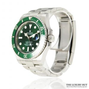 Shop Rolex Submariner Hulk 40mm Watch Ref: 116610LV