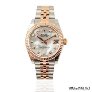 Shop Rolex Datejust 31mm MOP Watch Ref: 178271