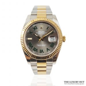 Shop Rolex Datejust 41mm Bi-Metal Ref: 126333