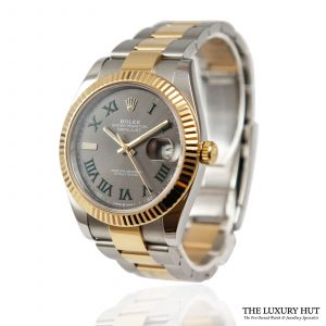 Rolex Datejust 41mm Bi-Metal Ref: 126333