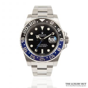 Shop Rolex GMT Master 2 Batman Ref: 116710BLNR