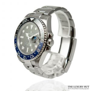 Shop Rolex GMT Master 2 40mm Batman Ref: 116710BLNR
