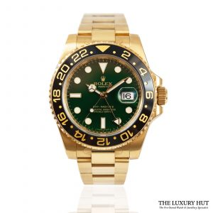 Shop Rolex GMT-Master 2 Watch Ref: 116718LN