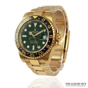 Shop Rolex GMT-Master 2 40mm Watch Ref: 116718LN