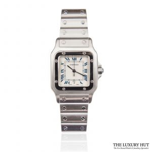 Shop Cartier Santos Galbee Quartz Watch Ref: 1564