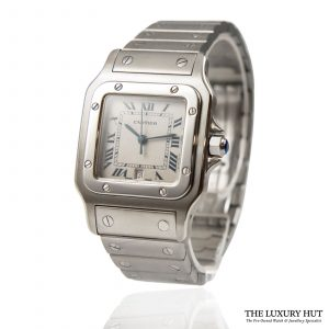Shop Cartier Santos Quartz Watch Ref: 1564